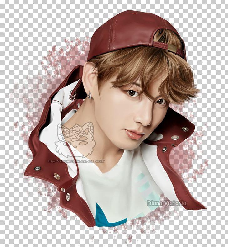 Jungkook BTS Wings FAKE LOVE K-pop PNG, Clipart, Brown Hair