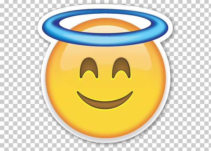 Smiley Emoji Emoticon Angel PNG, Clipart, Angel, Clip Art, Computer Icons, Emoji, Emojis Free PNG Download