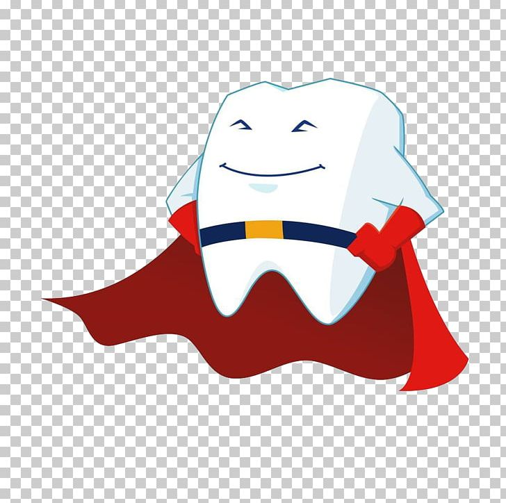 Tooth Superhero Cartoon PNG, Clipart, As White As Snow, Bright, Bright White, Deciduous, Deciduous Tooth Free PNG Download