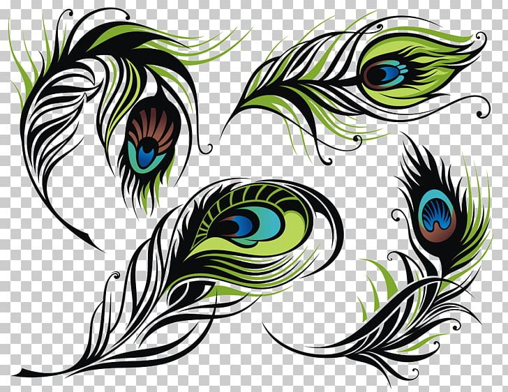 Bird Feather Peafowl Illustration PNG, Clipart, Animals, Asiatic Peafowl, Beak, Drawing, Encapsulated Postscript Free PNG Download