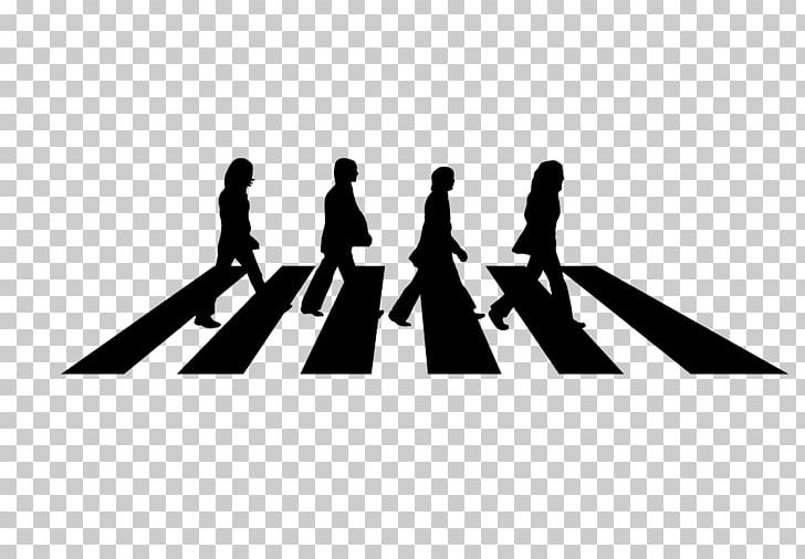 Abbey Road The Beatles Silhouette Decal Png Clipart Abbey