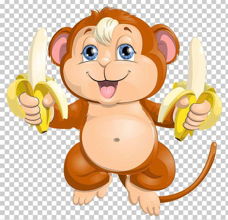Monkey Cuteness PNG, Clipart, Bana, Big Cats, Carnivoran, Cartoon, Cartoons Free PNG Download