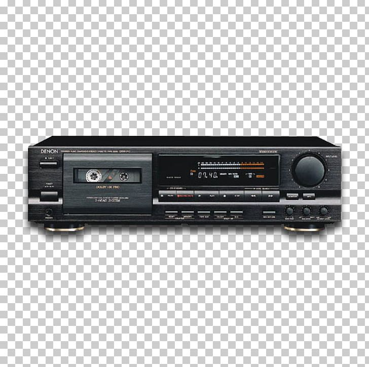 Cassette Deck Denon Compact Cassette Tape Recorder Electronics PNG, Clipart, Audio, Audio Cassette, Audio Receiver, Av Receiver, Cd Player Free PNG Download