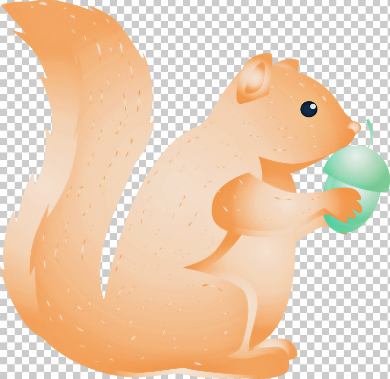 Squirrel Cartoon Animal Figure Tail PNG, Clipart, Animal Figure, Cartoon, Squirrel, Tail, Watercolor Squirrel Free PNG Download