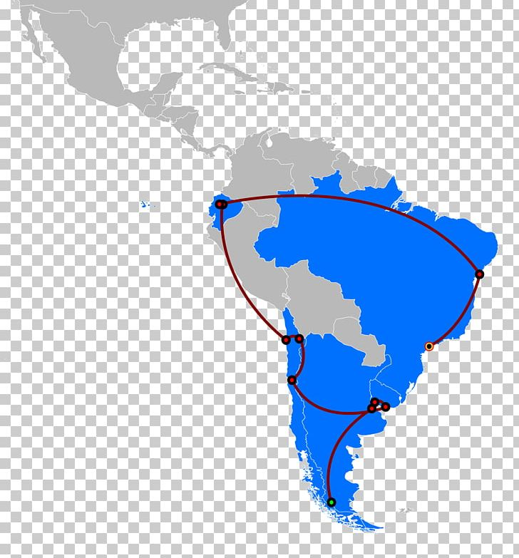 Latin America South America United States Blank Map PNG, Clipart ...