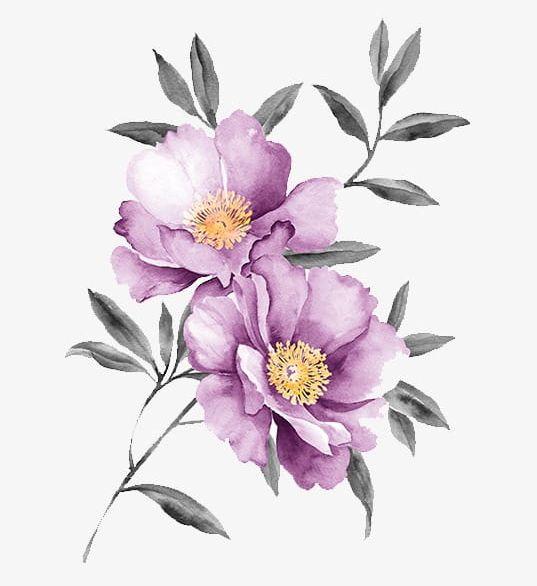 Purple Flowers PNG, Clipart, Decoration, Flowers, Flowers Clipart, Flowers Clipart, Purple Free PNG Download