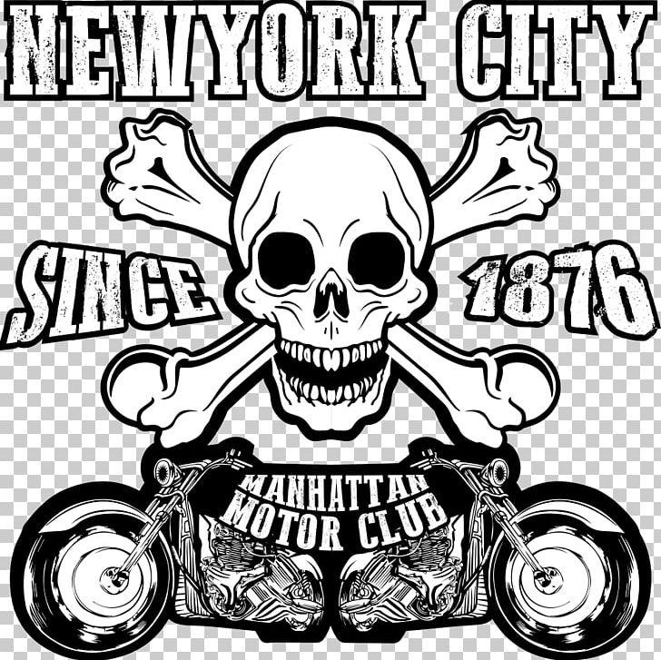 Motorcycle T Shirt Skull Png Clipart Animal Print Art