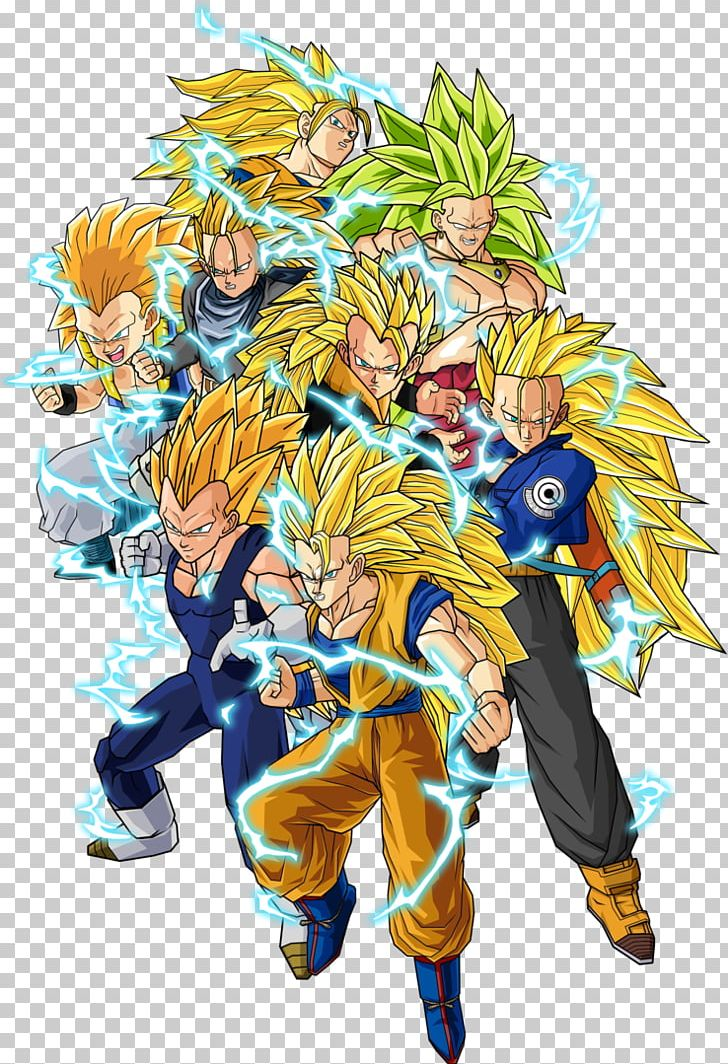Trunks Goku Dragon Ball Z Budokai 3 Gogeta Gohan Png