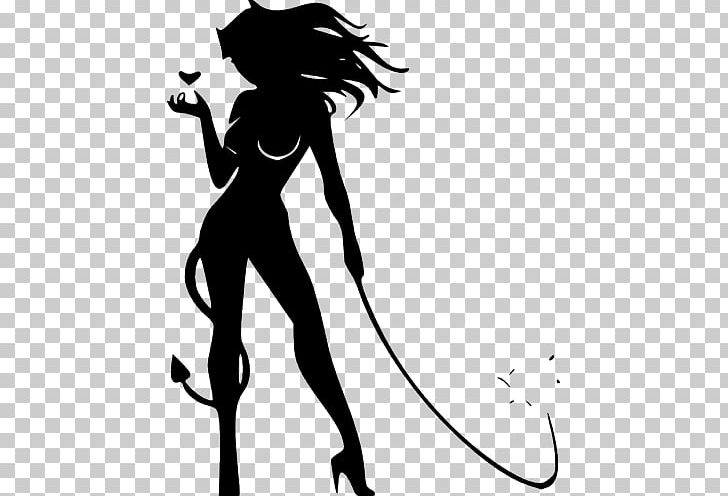 Devil Woman Drawing PNG, Clipart, Angel, Arm, Art, Black, Black And White Free PNG Download