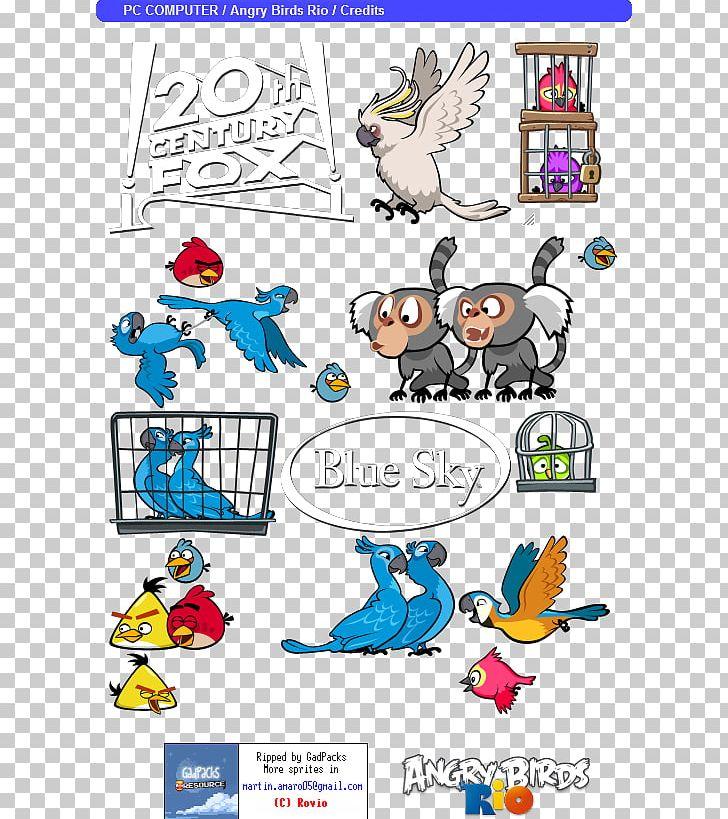 Angry Birds Rio Blue Sky Studios Film Video Game Closing