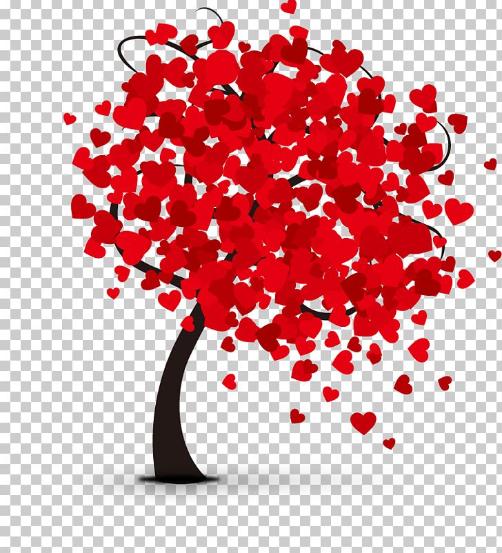 Valentines Day Hearts Tree PNG, Clipart, Christmas Tree, Encapsulated Postscript, Family Tree, Fathers Day, Flo Free PNG Download