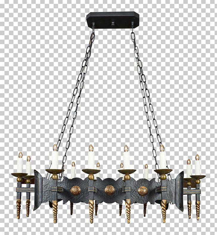 Chandelier Renaissance Light Fixture Lighting Wrought Iron