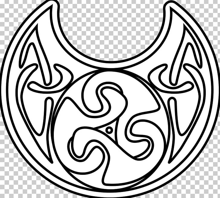 Celtic Knot Coloring Book Drawing Black And White PNG ...