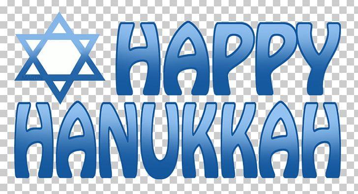 Happy Hanukkah Text PNG, Clipart, Area, Blue, Brand, Celebration, Celebration Hanukkah Free PNG Download