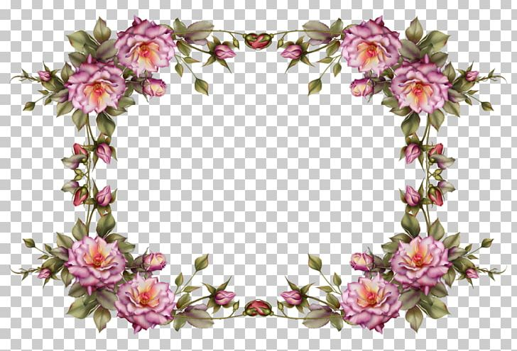 Flower Frame PNG, Clipart, Artificial Flower, Blue Rose, Borders And Frames, Color, Cut Flowers Free PNG Download