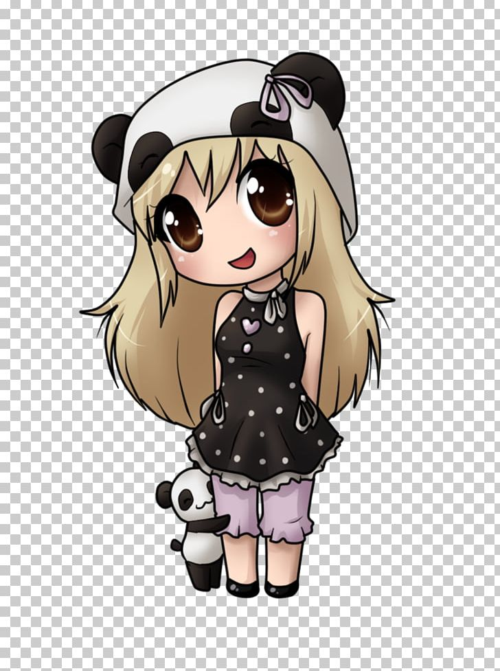 Giant Panda Drawing Chibi Kavaii Manga Png Clipart Animation