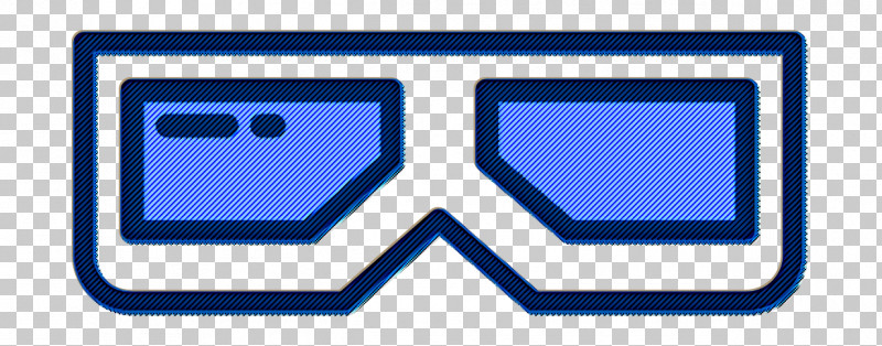Movie  Film Icon 3d Glasses Icon Film Icon PNG, Clipart, 3d Glasses Icon, Electric Blue, Film Icon, Line, Movie Film Icon Free PNG Download