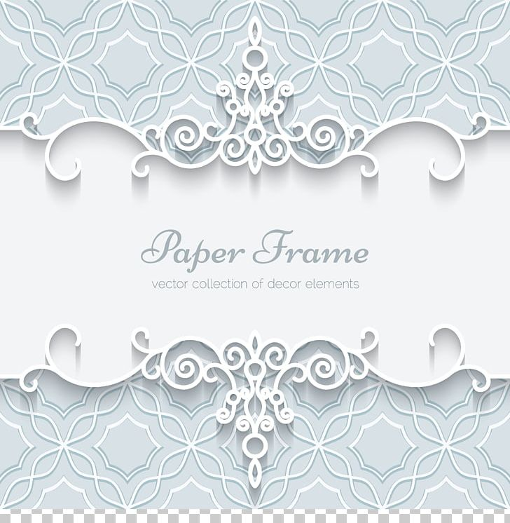 Paper Wedding Invitation Lace Ornament Png Clipart Border