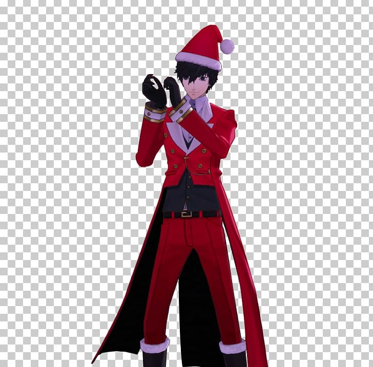 Joker Christmas.Persona 5 Kogoro Akechi Able Content Christmas Joker Png