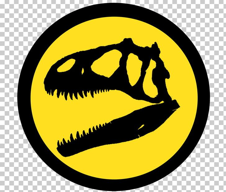 Allosaurus Jurassic Park Logo YouTube PNG, Clipart, Allosaurus, Deviantart, Emoticon, Film, Happiness Free PNG Download
