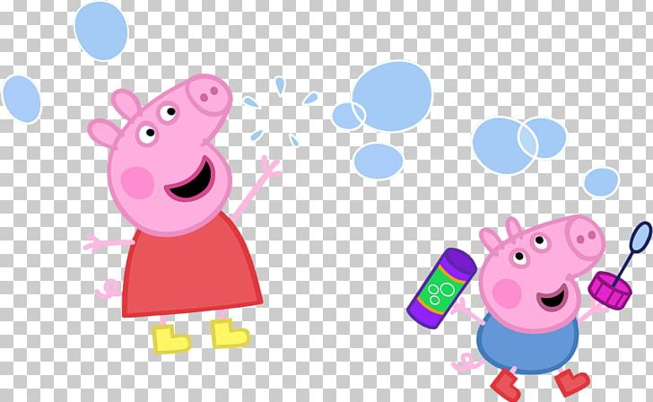Daddy Pig Thomas Peppa Pig Bubbles Drawing Png Clipart