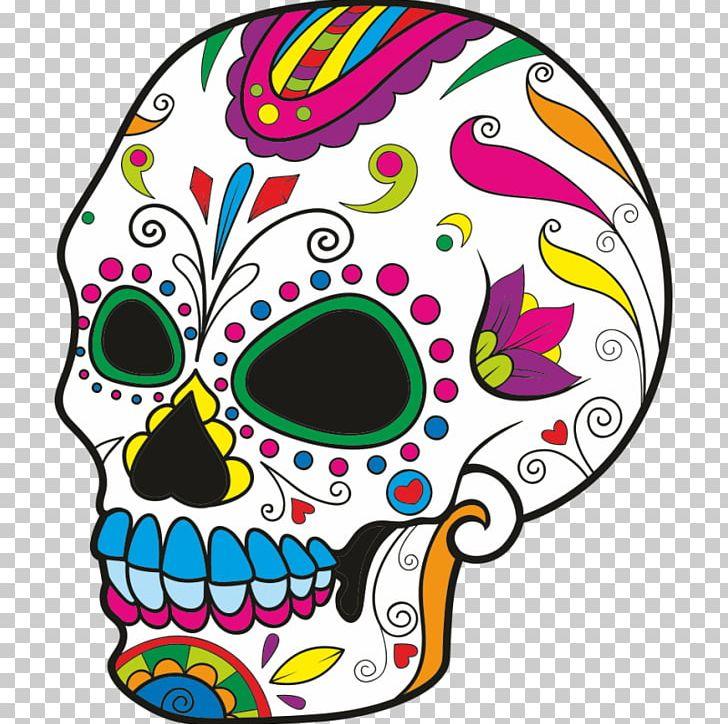 Calavera Sugar Skulls Coloring Book Day Of The Dead PNG ...