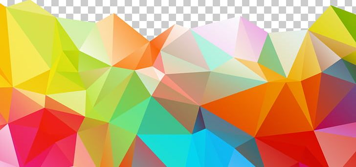 Polygon Geometry Color Png Clipart Abstract Abstract