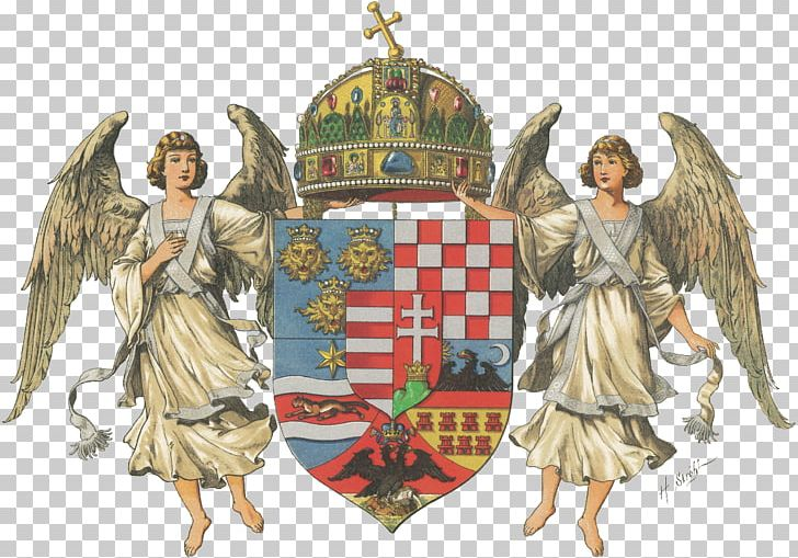 Austria-Hungary Coat Of Arms Of Hungary Kingdom Of Hungary PNG, Clipart, Angel, Coat Of Arms, Coat Of Arms Of Austria, Coat Of Arms Of Austriahungary, Fictional Character Free PNG Download