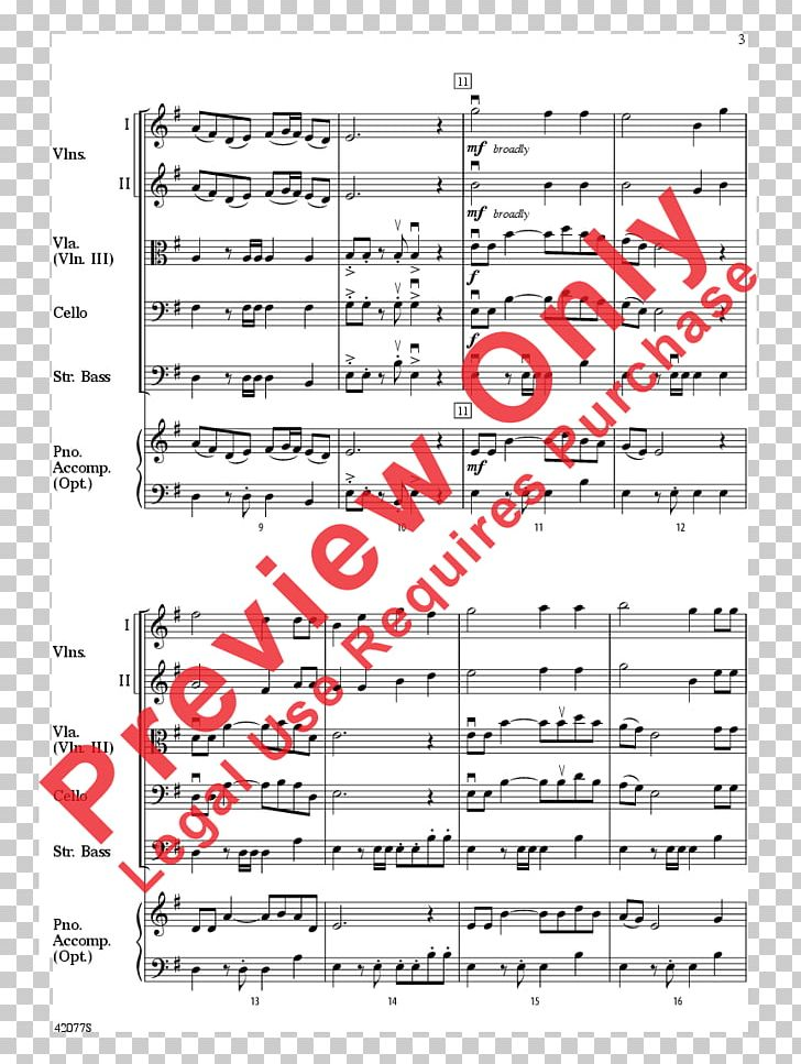 Sheet Music Violin Pizzicato Double Bass Png Clipart Angle