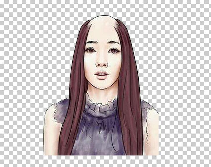Long Hair Woman Hair Loss Capelli Png Clipart Artificial Hair Integrations Bald Black Hair Blue Hair