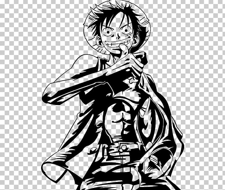 Monkey D. Luffy Trafalgar D. Water Law Portgas D. Ace One Piece PNG, Clipart, Arm, Art, Artwork, Black, Black And White Free PNG Download