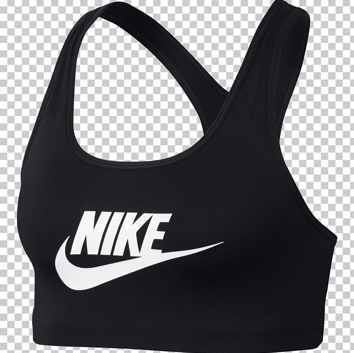 Sports Bra Nike Tube Top Png Clipart Active Undergarment Black Bra Brand Brassiere Free Png Download