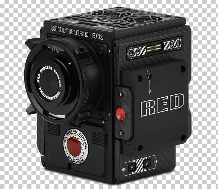 Red Digital Cinema Camera Company 8K Resolution Full-frame Digital SLR Digital Movie Camera PNG, Clipart, 8k Resolution, Active Pixel Sensor, Camera, Camera Accessory, Camera Lens Free PNG Download