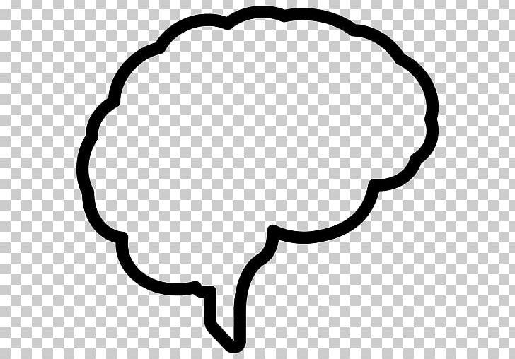 Brain outline. Of the human neuroscience