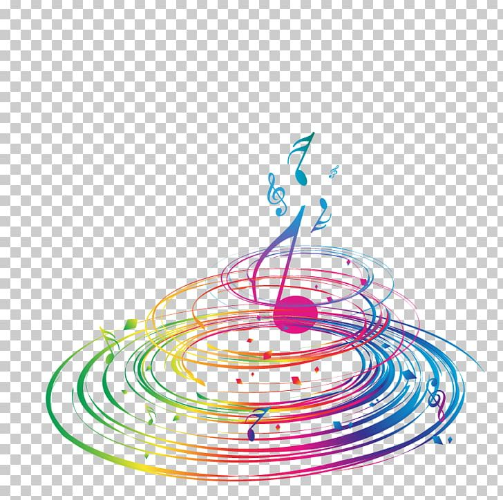 Musical Note Musical Notation PNG, Clipart, Circle, Color, Colorful