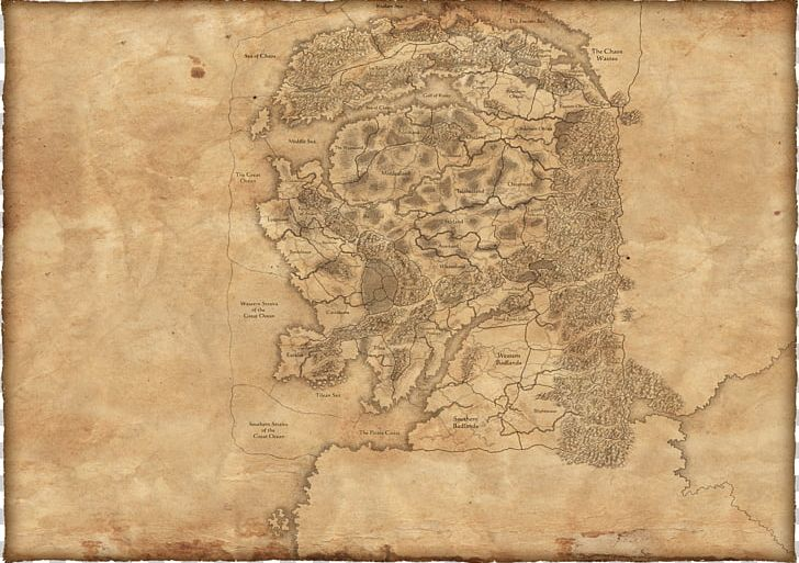 Total War Warhammer Total War Shogun 2 Warhammer Online Age Of Reckoning Warhammer Fantasy Battle Map