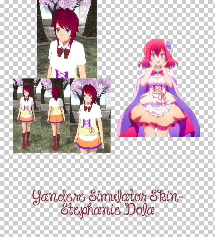 Yandere Simulator Character Utau Skin PNG, Clipart, Anime, Cartoon