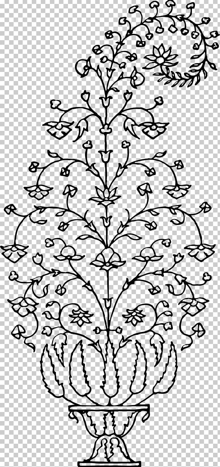 Leaf Paper Flowerpot Png Clipart Area Art Black And White