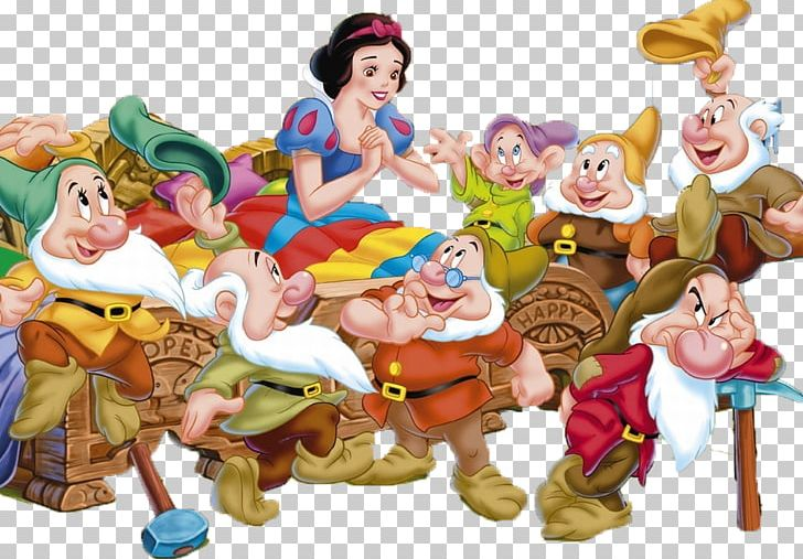 Snow White Seven Dwarfs Fairy Tale Disney Princess PNG, Clipart