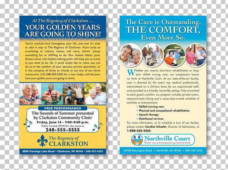 Assisted Living Nursing Home Care Health Care Marketing PNG, Clipart, Advertising, Aged Care, Assisted Living, Brochure, Business Free PNG Download
