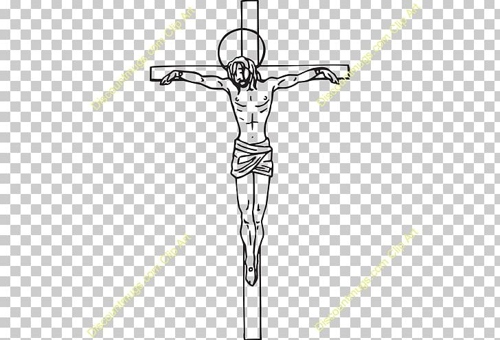 Calvary Crucifixion Of Jesus Christian Cross PNG, Clipart, Angle, Arm, Black And White, Calvary, Celtic Cross Free PNG Download