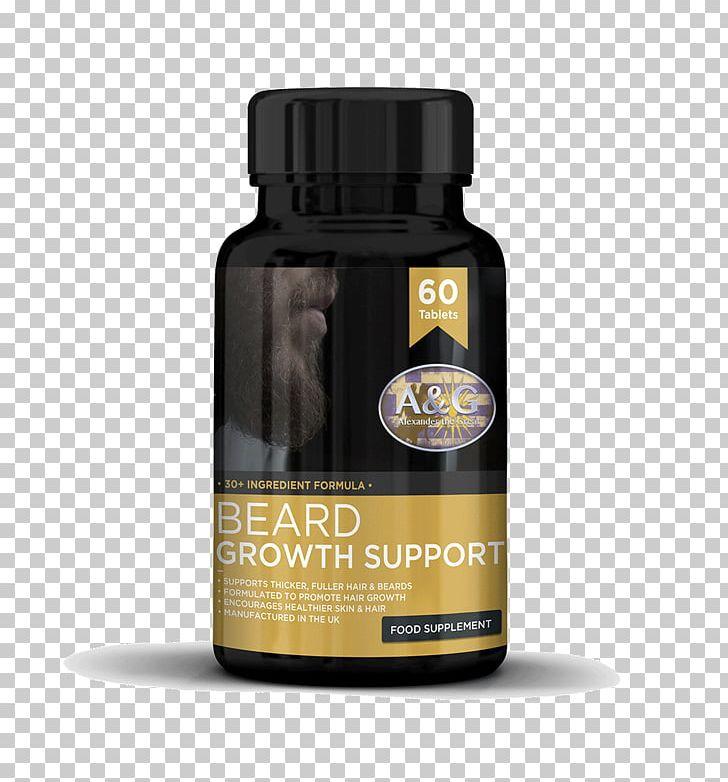 Dietary Supplement Beard Facial Hair Vitamin Nutrient PNG