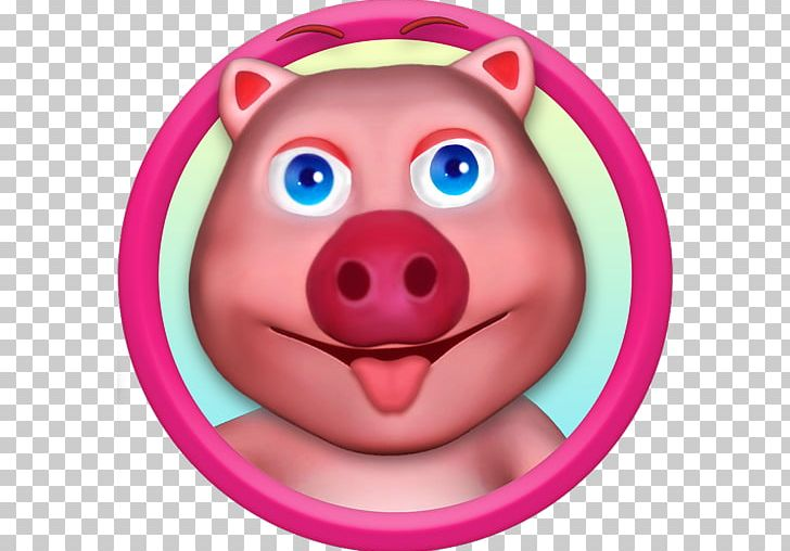 My Talking Pig PNG, Clipart, Android, App Store, Cheek