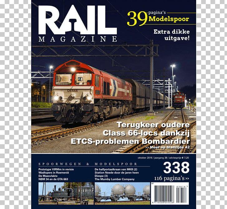 Train Rail Transport Rail Magazine PNG, Clipart, Locomotive