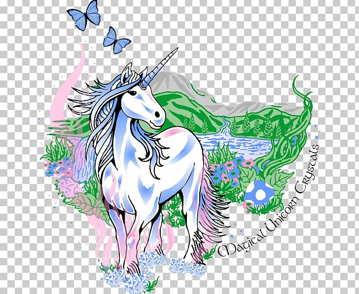 Magical Unicorn Crystals Crystal Healing Horse Png Clipart