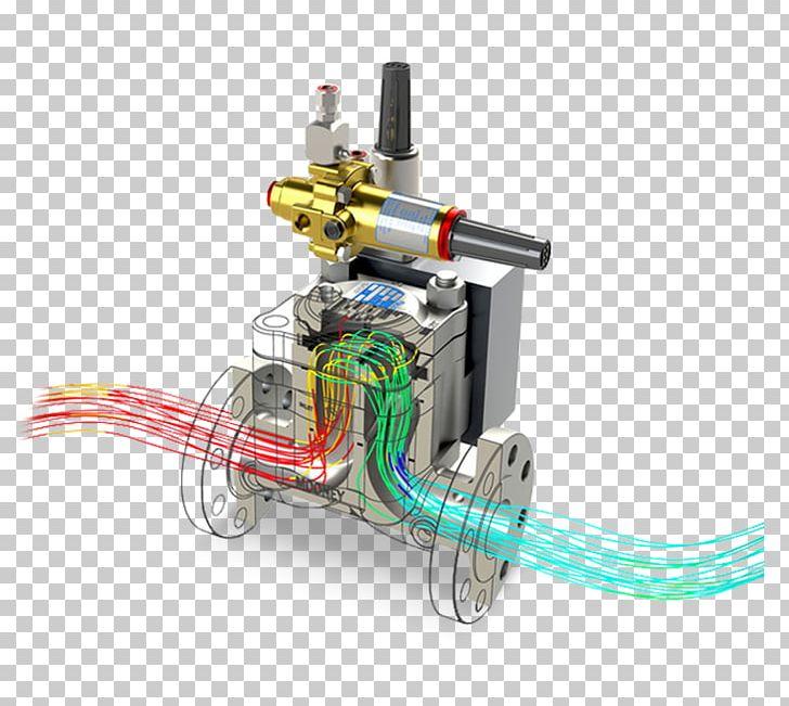SolidWorks Computational Fluid Dynamics Computer Simulation