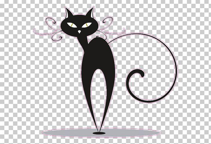 Black Cat Kitten PNG, Clipart, Animals, Black Cat, Carnivoran, Cartoon, Cat Free PNG Download