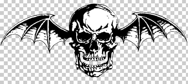 Avenged Sevenfold Logo Drawing Nightmare Png Clipart Art