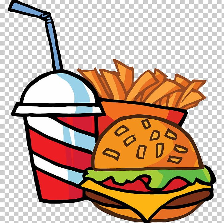 Hamburger Fast Food Restaurant Junk Food KFC PNG, Clipart, Artwork, Cartoon, Cartoon French Fries, Chipotle Mexican Grill, Drink Free PNG Download