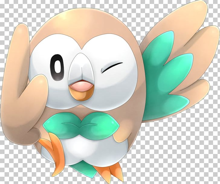 Pokémon Sun And Moon Rowlet Pokémon Go Png Clipart Beak Bird
